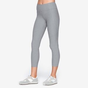 Outdoor Voices 3/4 Warmup Leggings in Ash